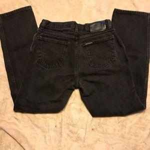 Harley-Davison black jeans in classic style